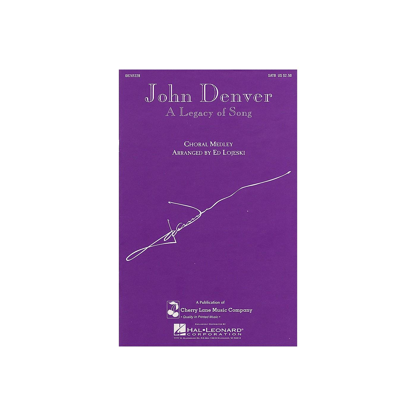 Cherry Lane John Denver - A Legacy of Song (Medley) SATB by John Denver arranged by Ed Lojeski thumbnail
