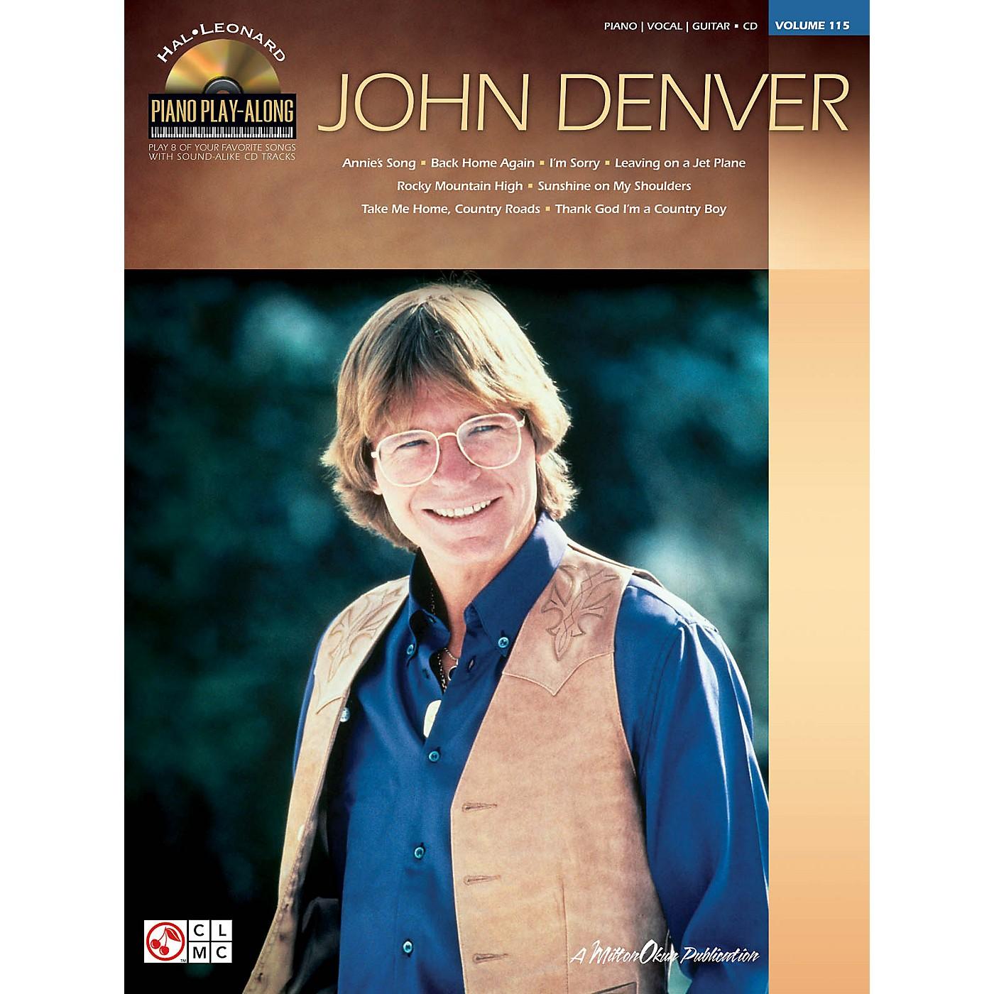Hal Leonard John Denver - Piano Play-Along Volume 115 (Book/CD) thumbnail