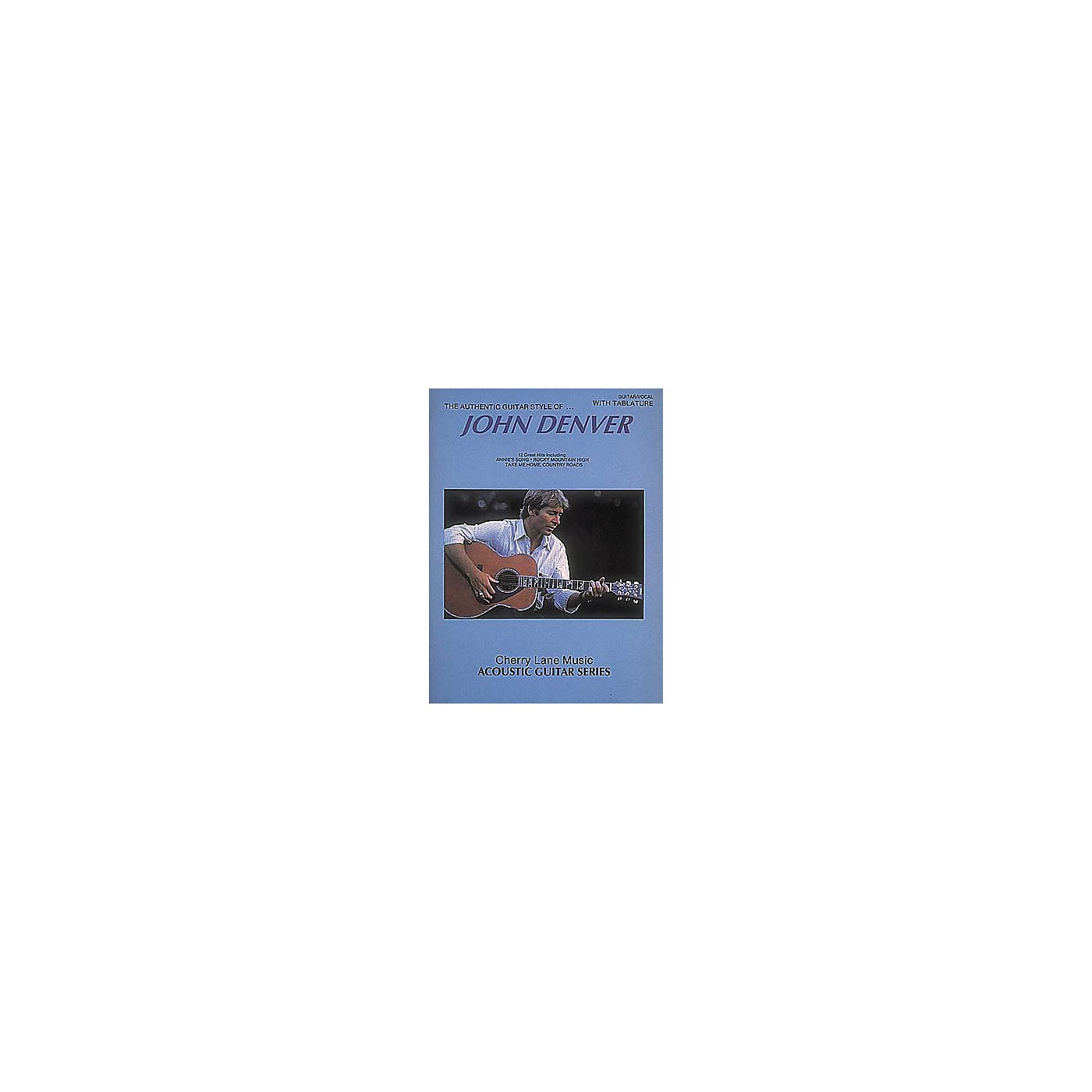 Hal Leonard John Denver Authentic Guitar Style thumbnail