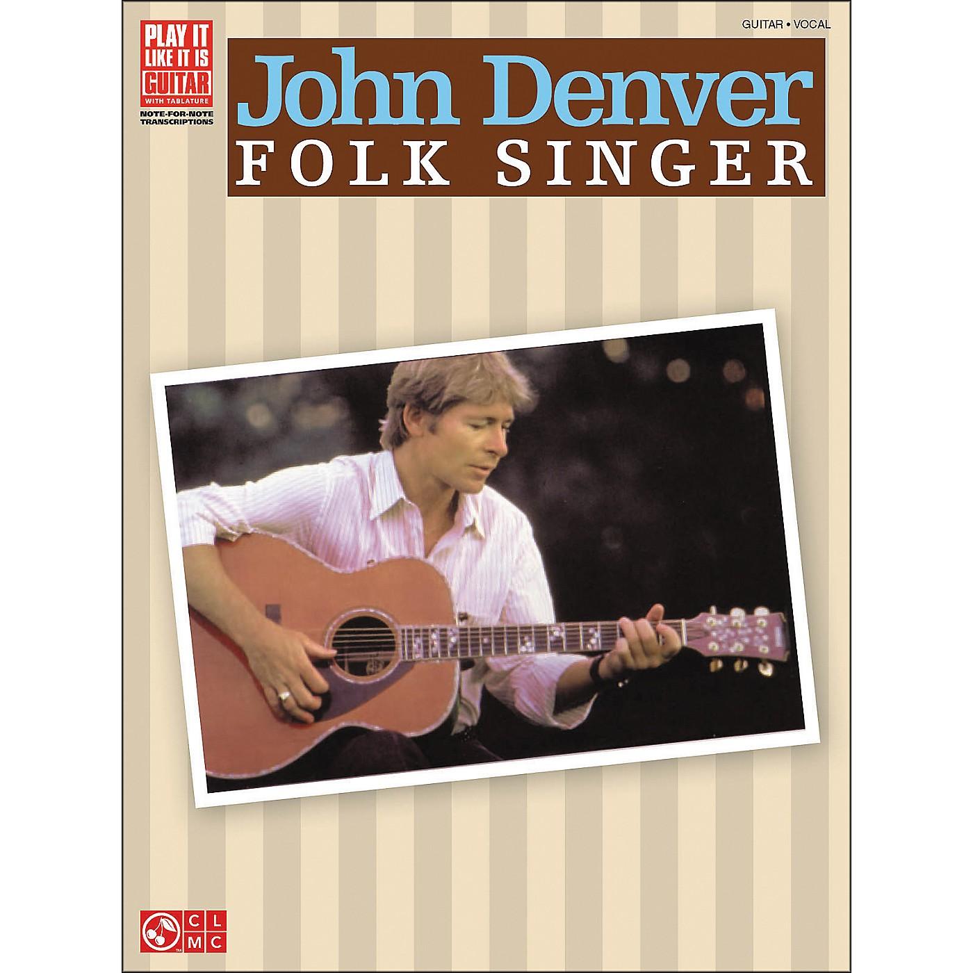 Cherry Lane John Denver Folk Singer Tab Book thumbnail