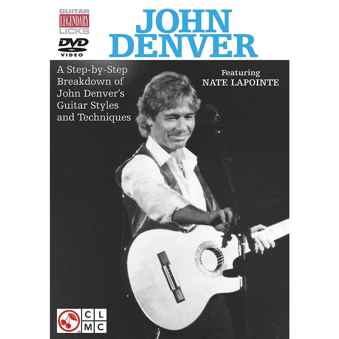 Cherry Lane John Denver Legendary Licks for Guitar DVD thumbnail