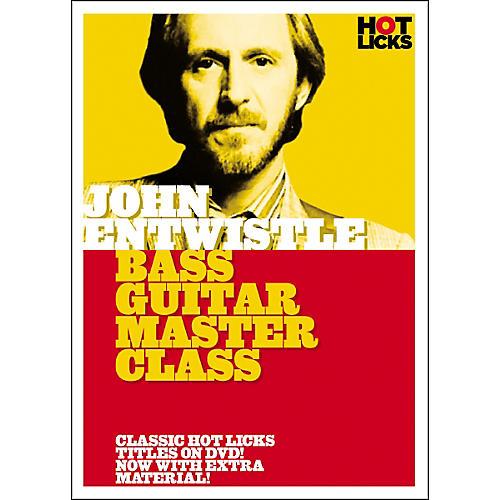 Hot Licks John Entwistle Bass Guitar Master Class (DVD)-thumbnail