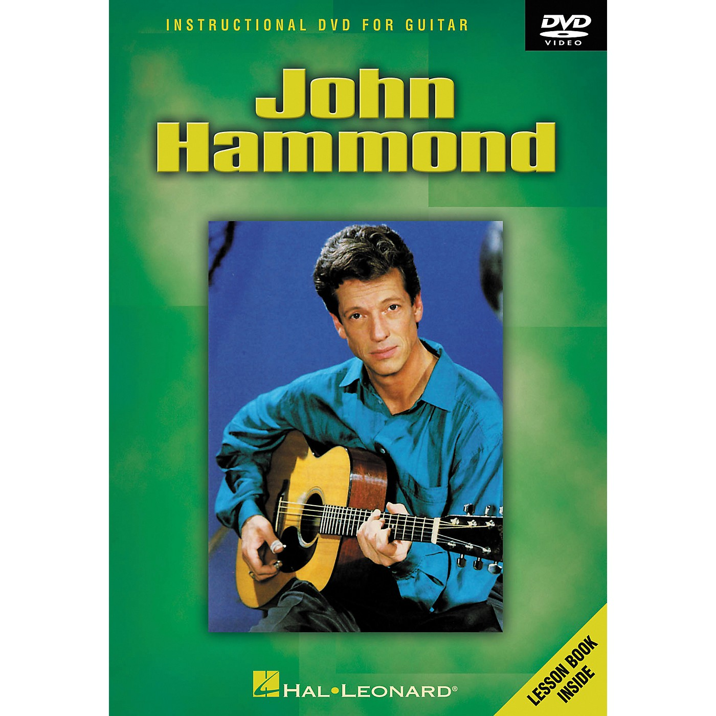 Hal Leonard John Hammond - Instructional Guitar DVD thumbnail