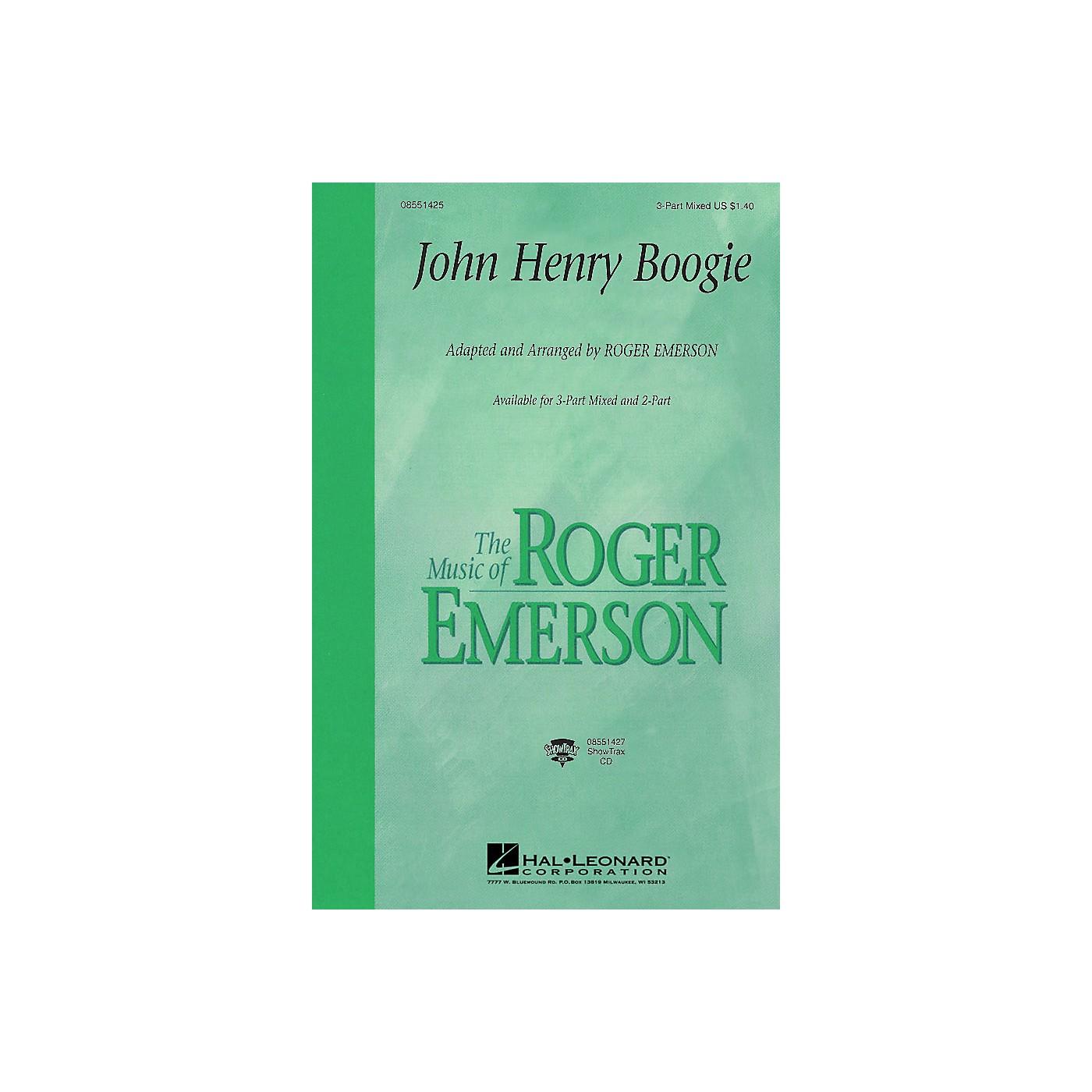 Hal Leonard John Henry Boogie 3-Part Mixed arranged by Roger Emerson thumbnail