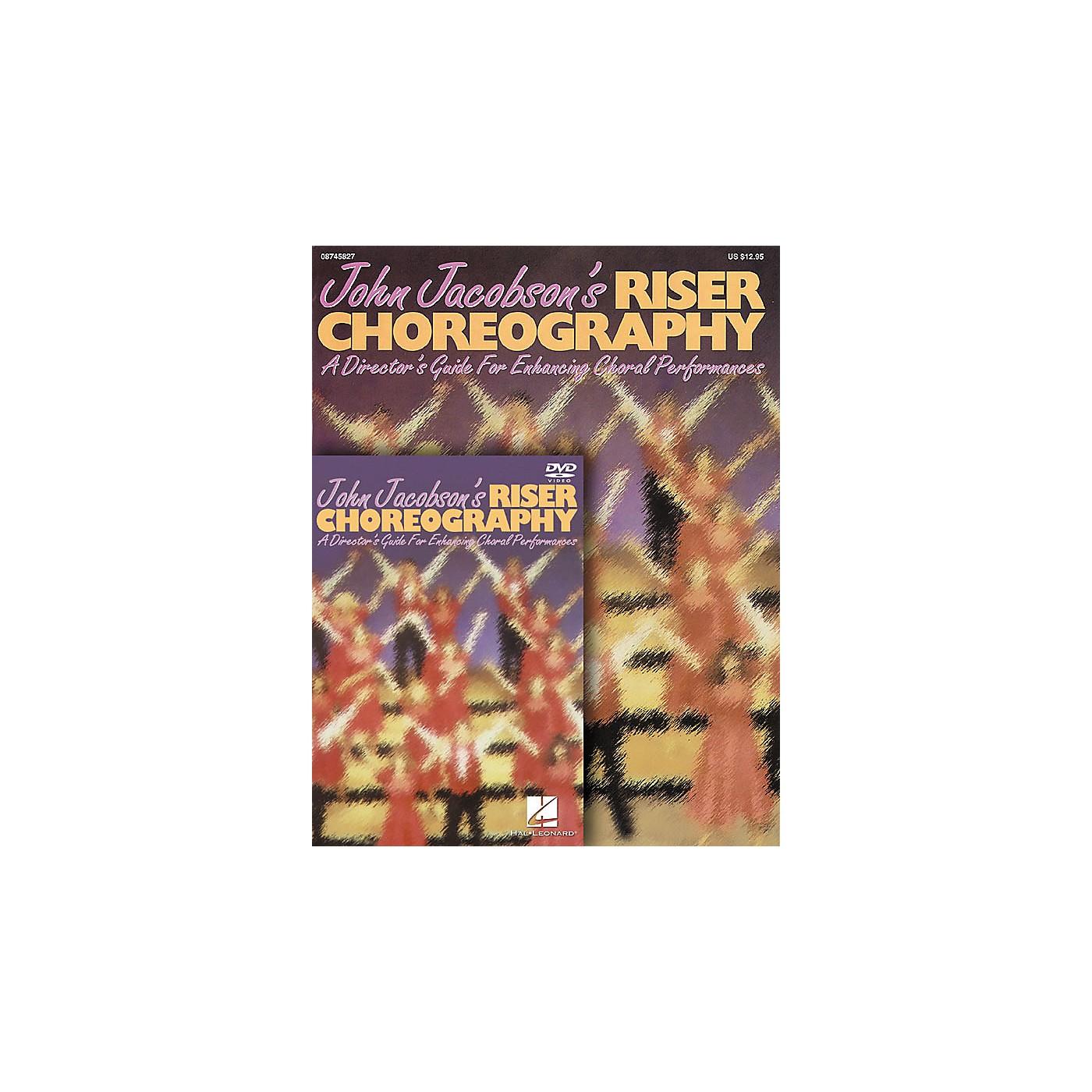 Hal Leonard John Jacobson's Riser Choreography thumbnail
