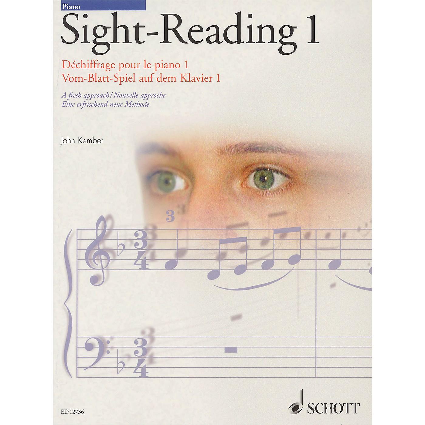 Schott John Kember - Piano Sight-Reading - Volume 1 (A Fresh Approach) Schott Series thumbnail