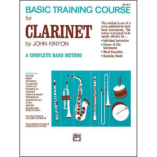 Alfred John Kinyon's Basic Training Course Book 1 Clarinet-thumbnail