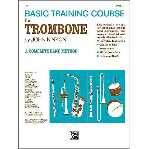 Alfred John Kinyon's Basic Training Course Book 1 Trombone thumbnail