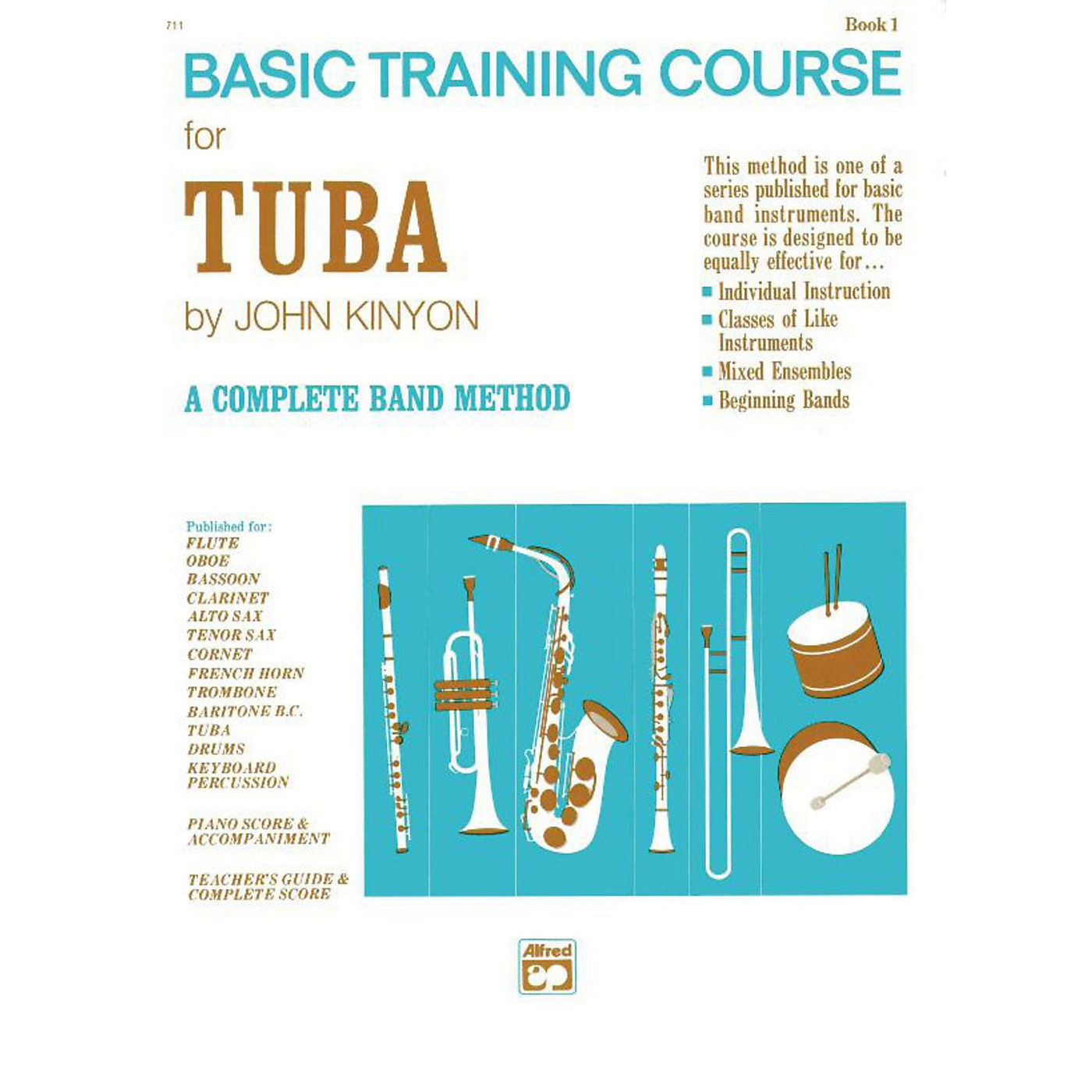 Alfred John Kinyon's Basic Training Course Book 1 Tuba thumbnail