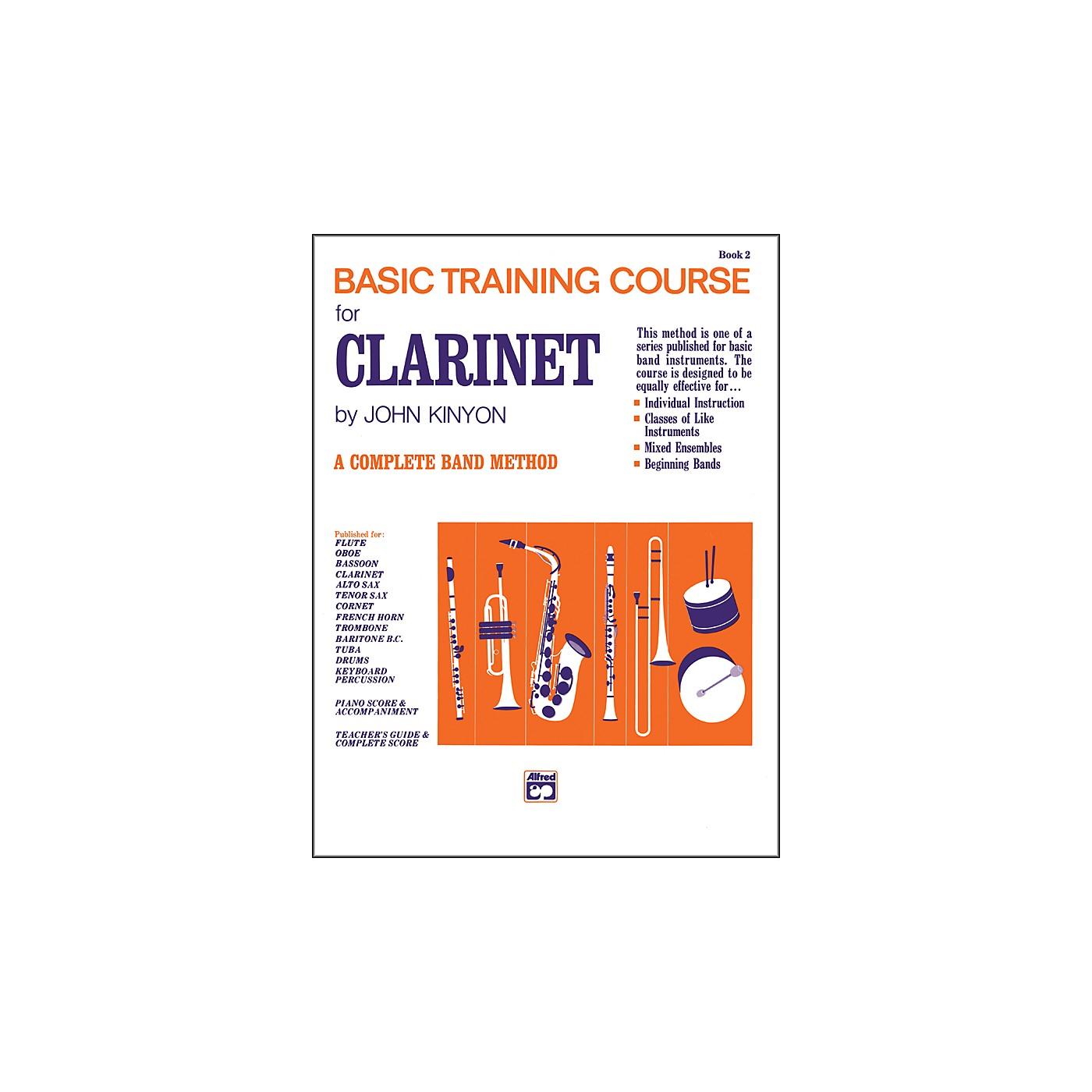 Alfred John Kinyon's Basic Training Course Book 2 Clarinet thumbnail