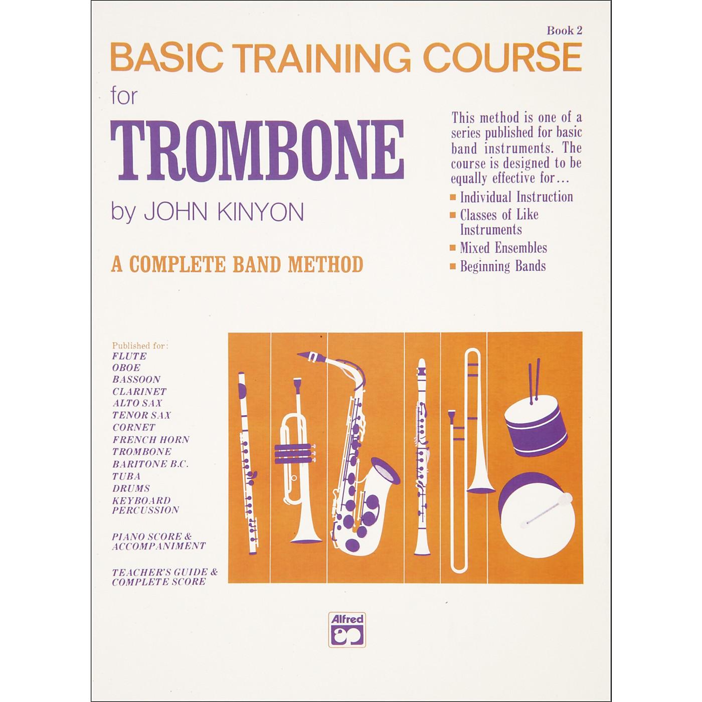 Alfred John Kinyon's Basic Training Course Book 2 Trombone thumbnail