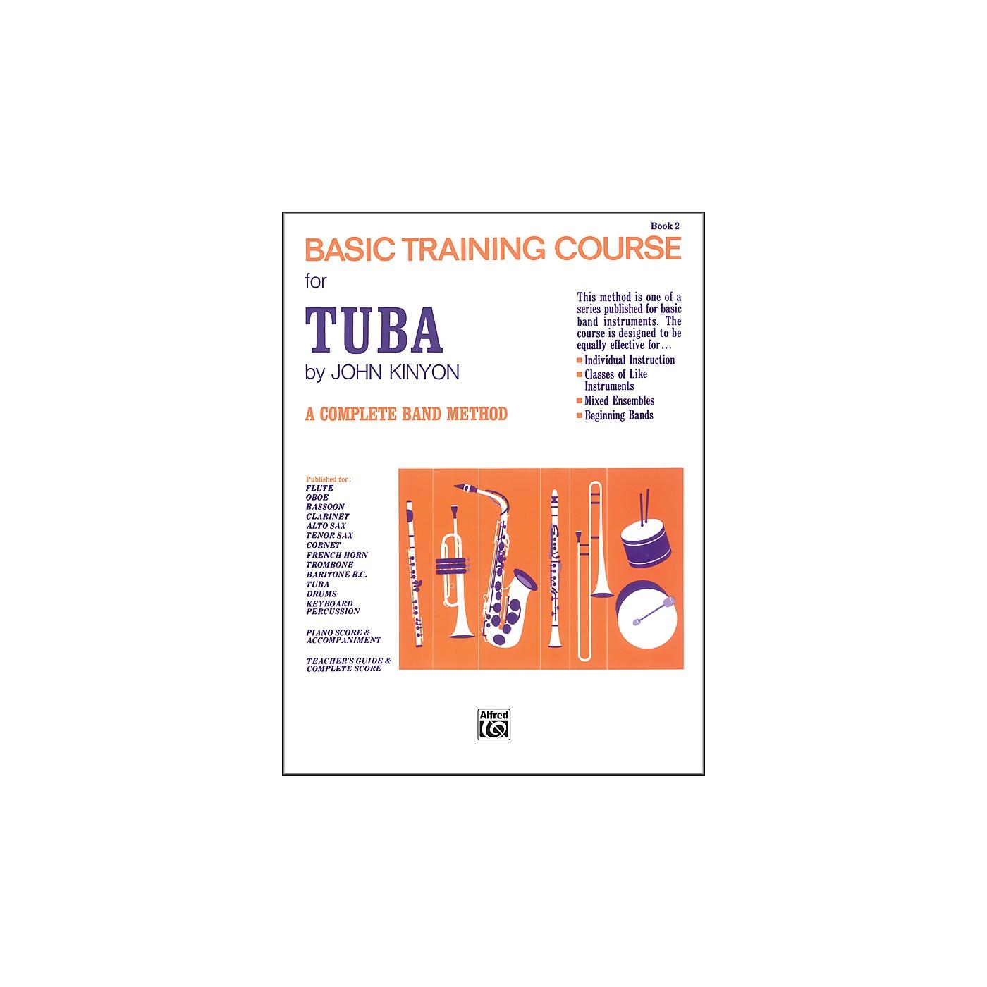 Alfred John Kinyon's Basic Training Course Book 2 Tuba thumbnail