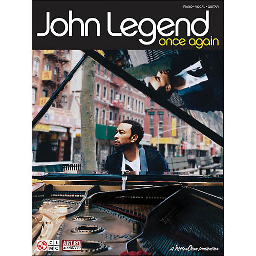 Cherry Lane John Legend Once Again arranged for piano, vocal, and guitar (P/V/G) thumbnail