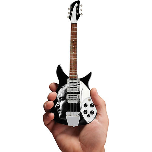 Axe Heaven John Lennon Fab Four Tribute Officially Licensed Miniature Guitar Replica thumbnail