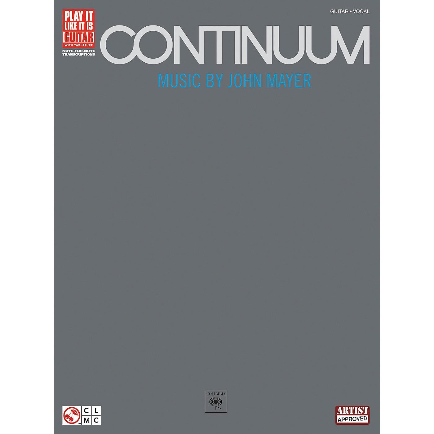 Hal Leonard John Mayer Continuum Guitar Tab Songbook thumbnail