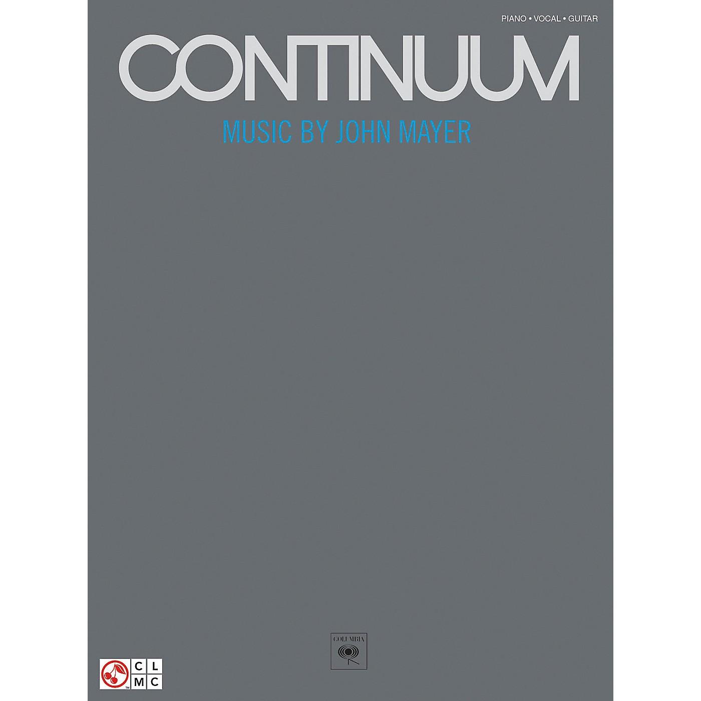 Hal Leonard John Mayer Continuum Piano, Vocal, Guitar Songbook thumbnail