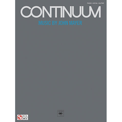 Hal Leonard John Mayer Continuum Piano, Vocal, Guitar Songbook thumbnail