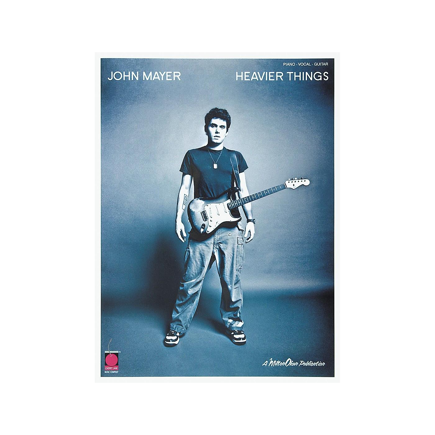 Cherry Lane John Mayer Heavier Things Piano, Vocal, Guitar Songbook thumbnail