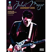 Cherry Lane John Mayer Legendary Licks Book/CD