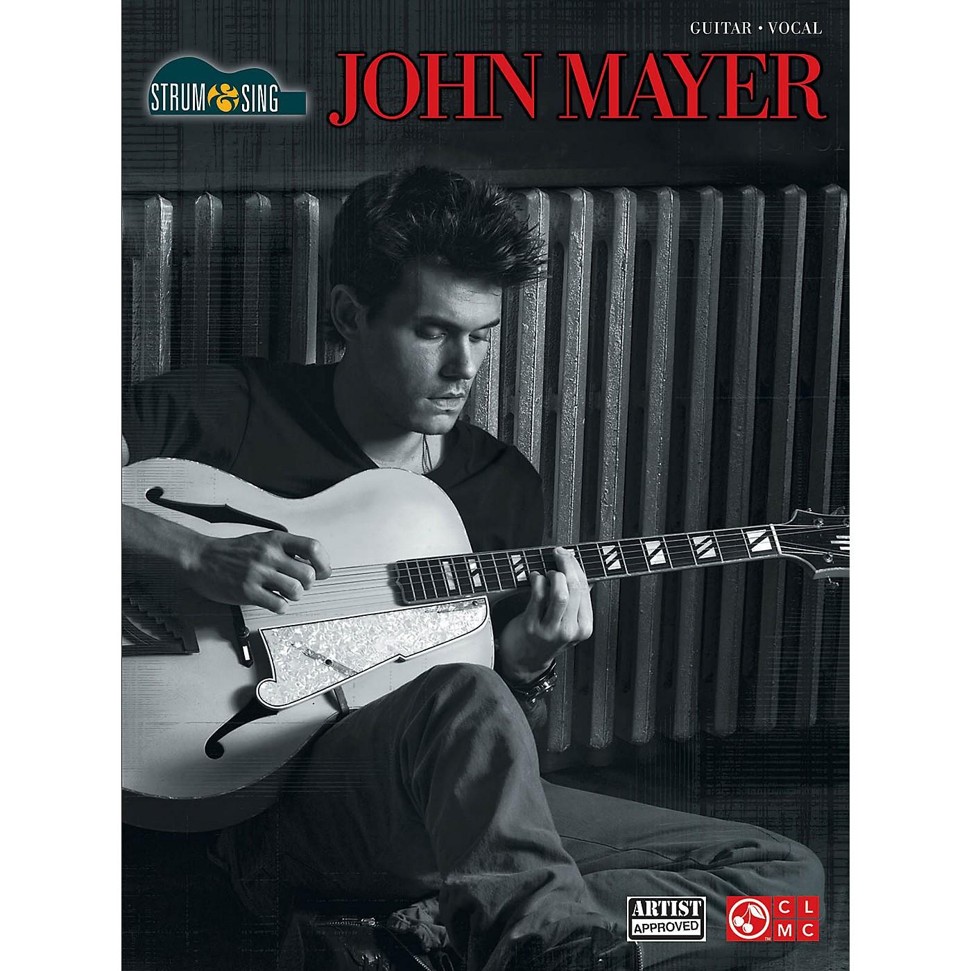 Cherry Lane John Mayer Strum & Sing Easy Guitar With Tab thumbnail