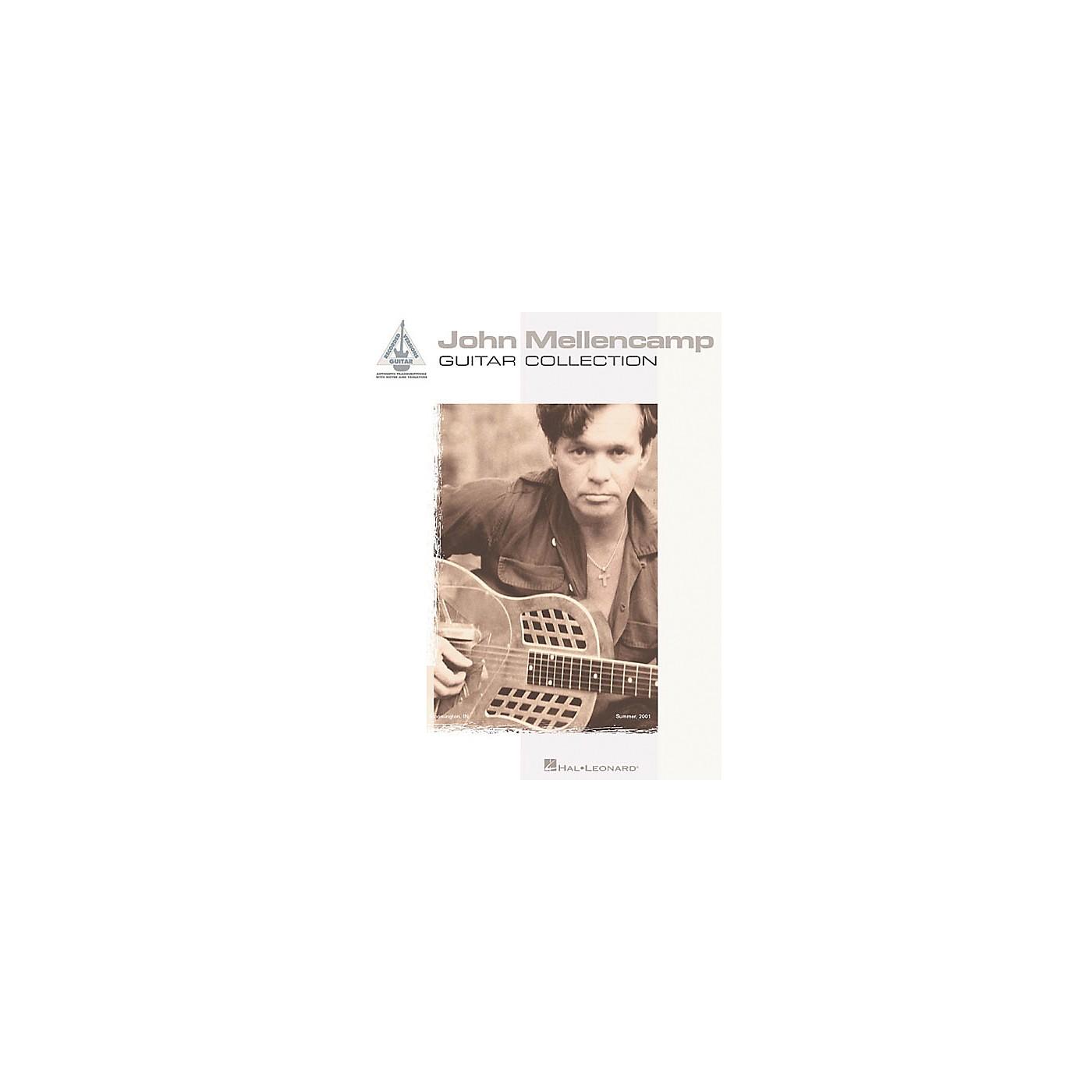 Hal Leonard John Mellencamp Guitar Collection Guitar Tab Songbook thumbnail