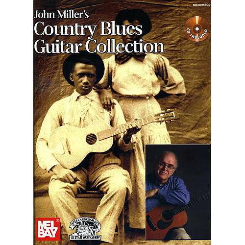 Mel Bay John Miller's Country Blues Guitar Collection Book/CD Set thumbnail