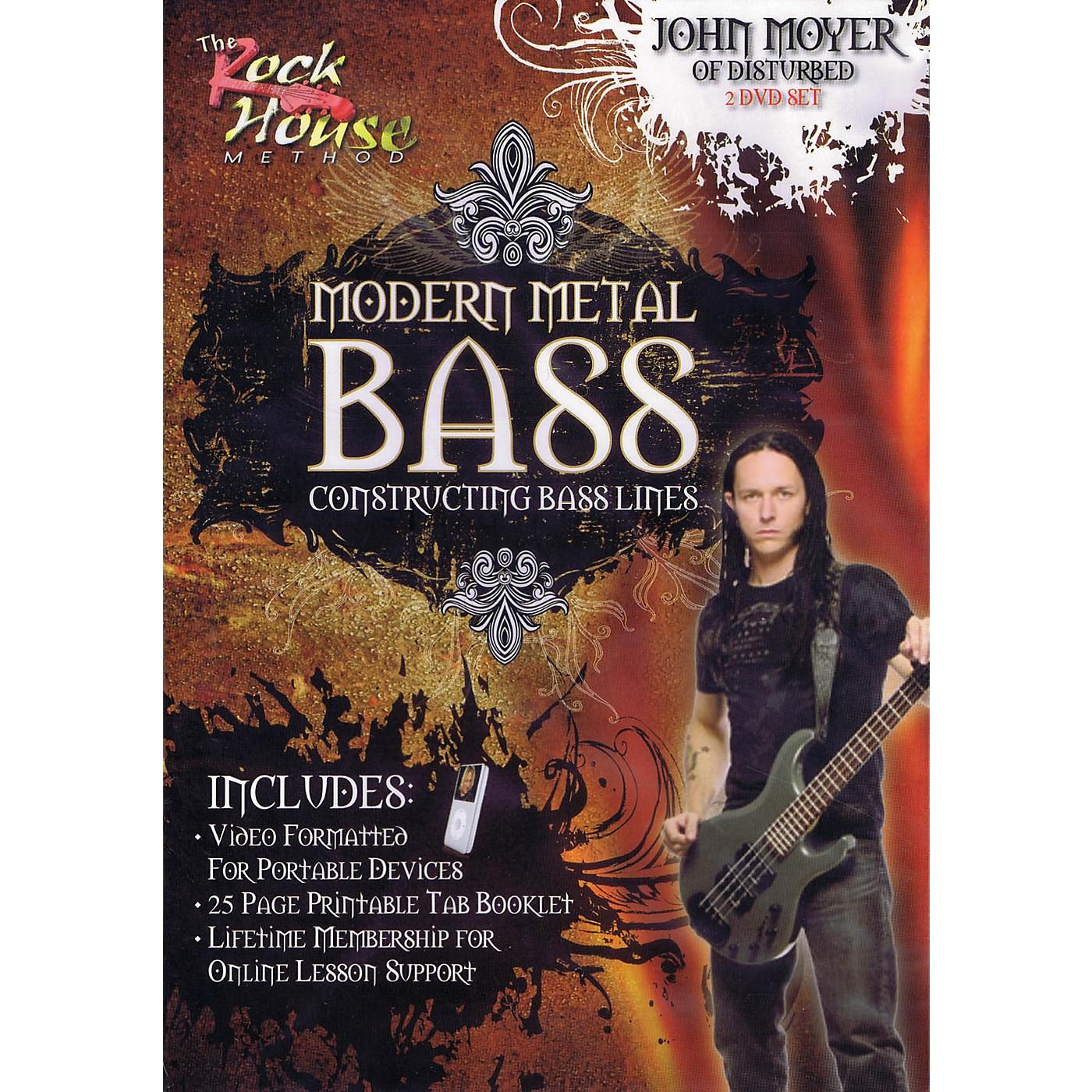 Rock House John Moyer Of Disturbed - Modern Metal Bass (Constructing Bass Lines) DVD thumbnail