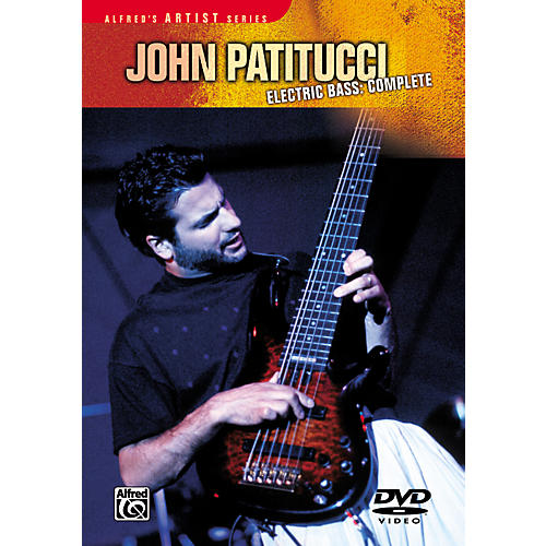 Alfred John Patitucci: Electric Bass Complete DVD thumbnail