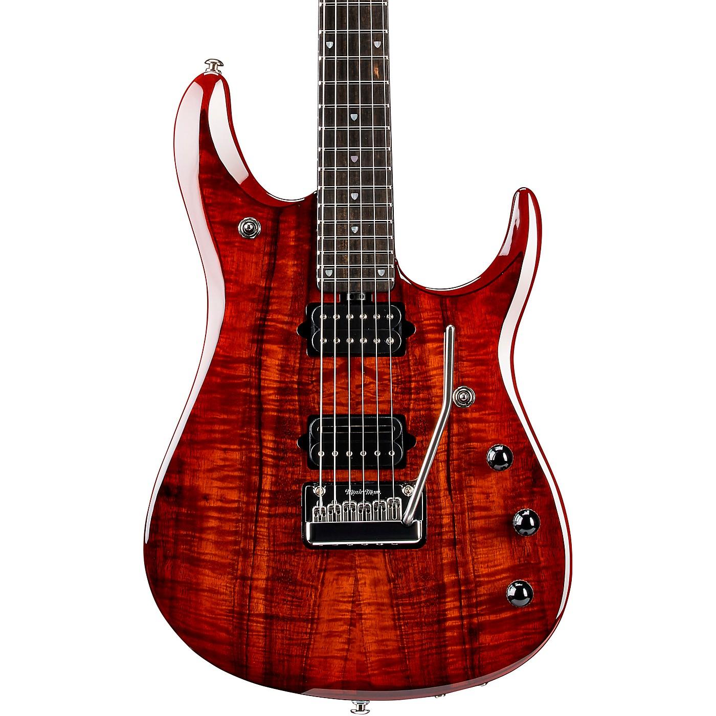 Ernie Ball Music Man John Petrucci JP6 Koa Top Ebony Fingerboard Electric Guitar thumbnail
