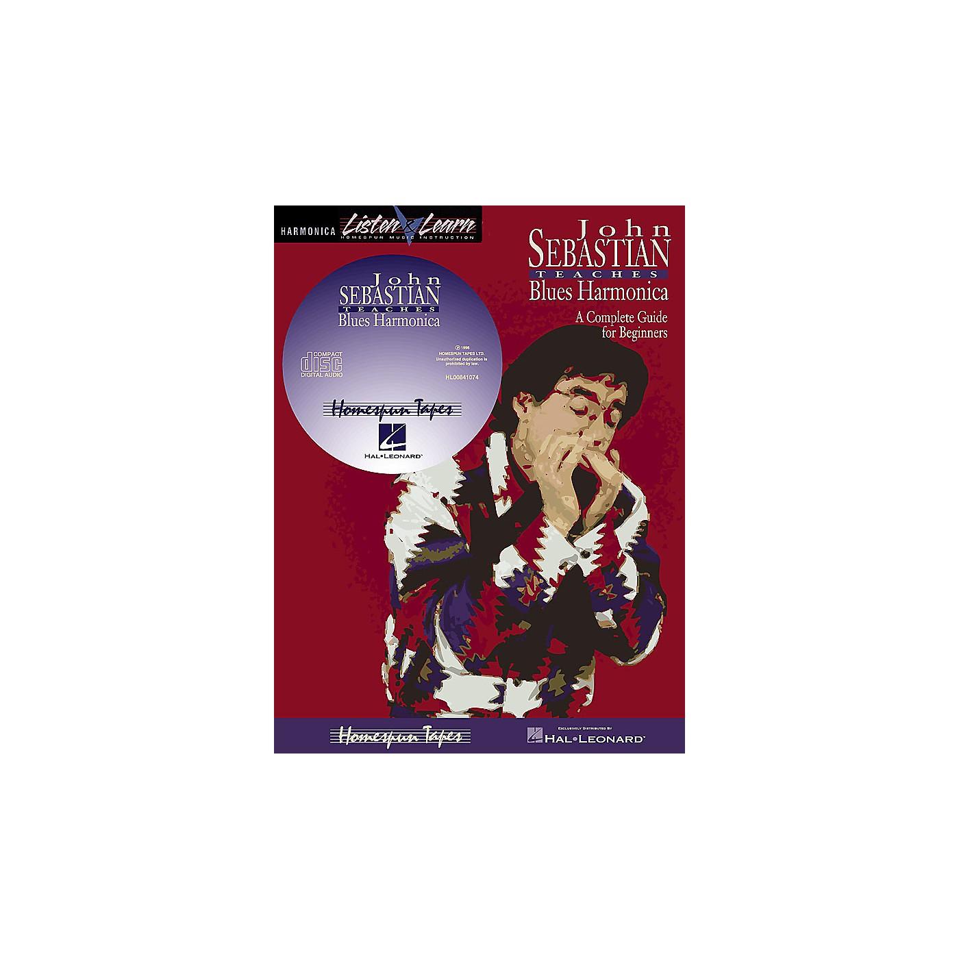 Homespun John Sebastian - Beginning Blues Harmonica Homespun Tapes Series Softcover with CD by John Sebastian thumbnail