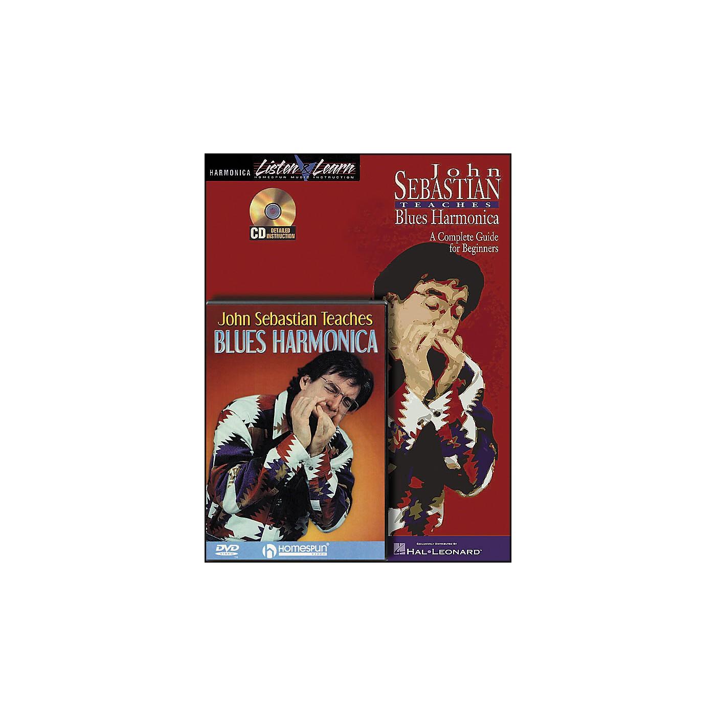 Hal Leonard John Sebastian Bundle Pack (Book/CD/DVD) thumbnail