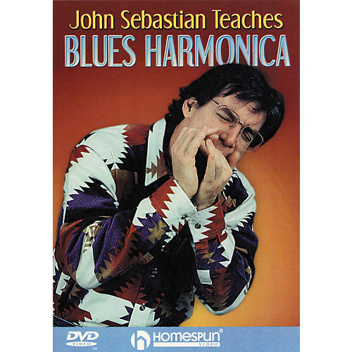 Homespun John Sebastian Teaches Blues Harmonica (DVD) thumbnail