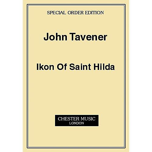 Music Sales John Tavener: Ikon Of Saint Hilda (Score) Music Sales America Series thumbnail