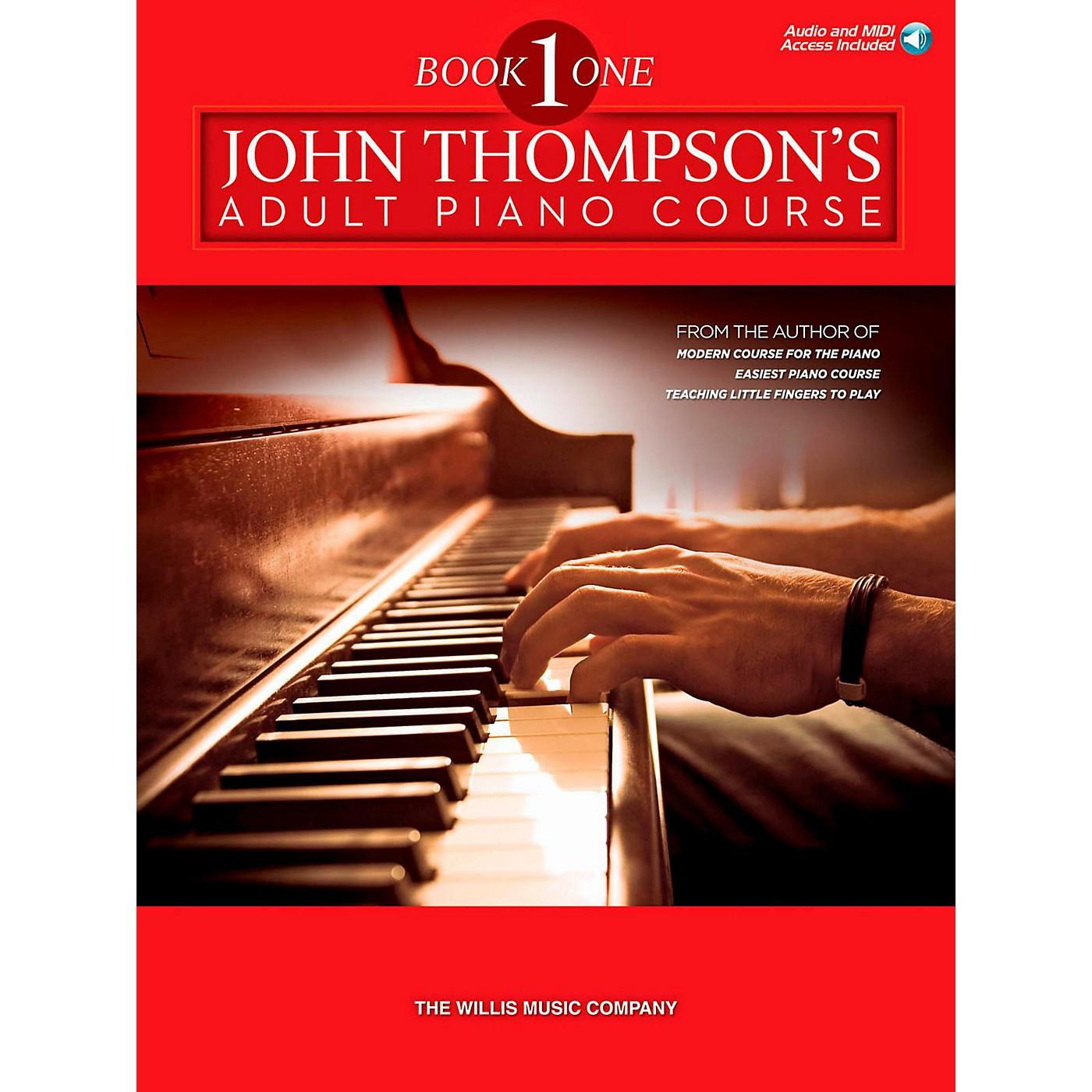 Hal Leonard John Thompson's Adult Piano Course - Book 1 (Book/Audio Online) thumbnail
