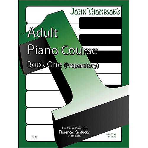 Willis Music John Thompson's Adult Piano Course Book One Preparatory thumbnail