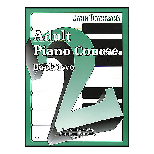 Willis Music John Thompson's Adult Piano Course Book Two-thumbnail