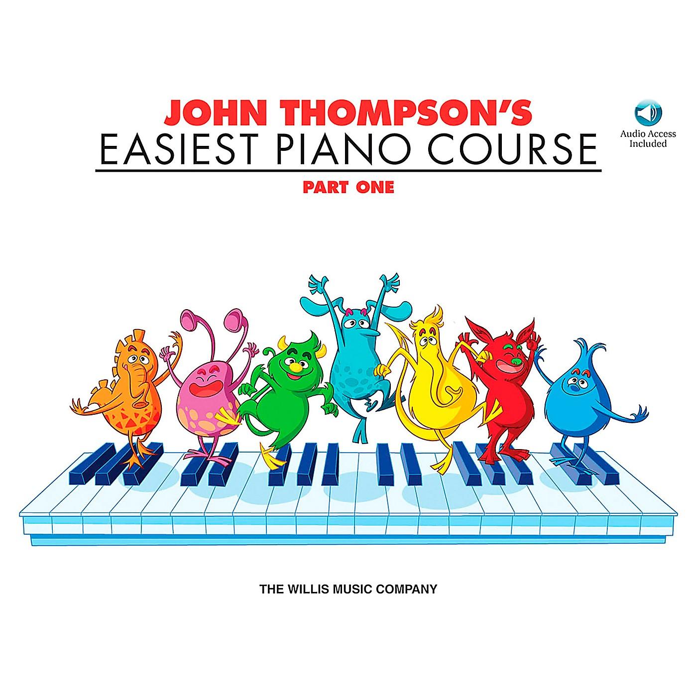 Willis Music John Thompson's Easiest Piano Course Part 1 Book/Online Audio thumbnail