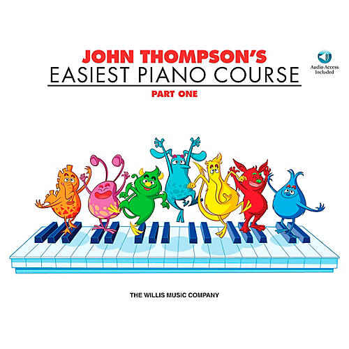 Willis Music John Thompson's Easiest Piano Course Part 1 Book/Online Audio thumbnail
