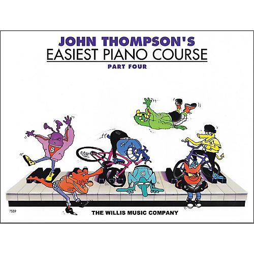 Willis Music John Thompson's Easiest Piano Course Part 4 thumbnail