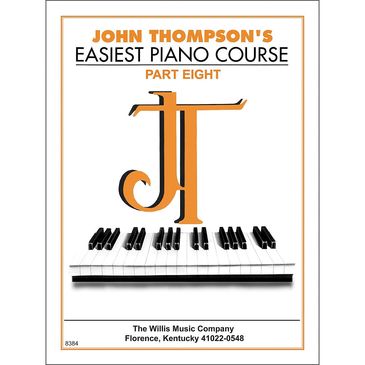 Willis Music John Thompson's Easiest Piano Course Part 8 thumbnail