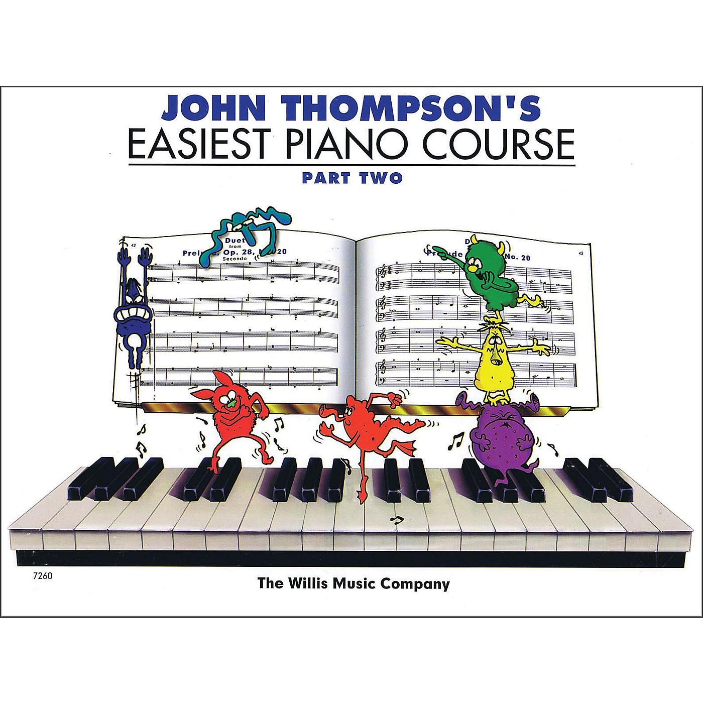 Hal Leonard John Thompson's Easiest Piano Course Part Two thumbnail