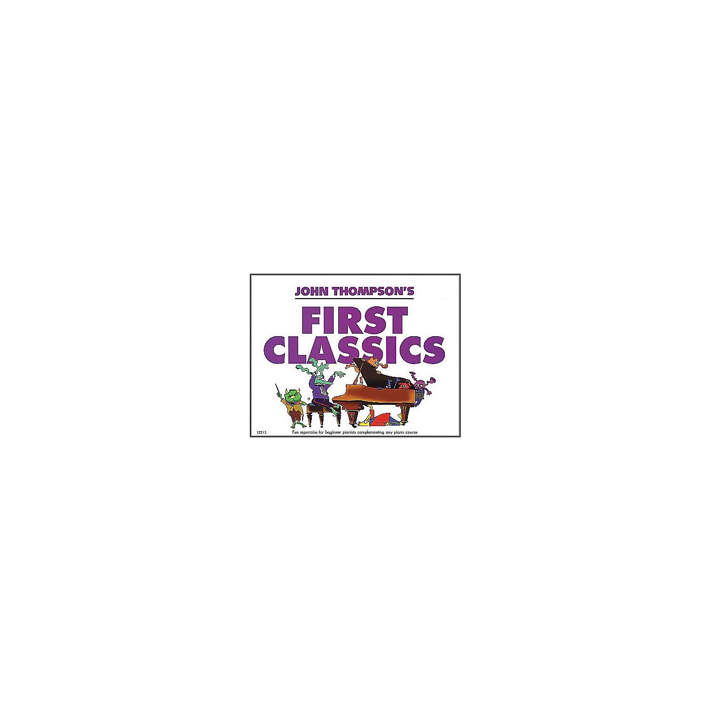 Willis Music John Thompson's First Classics Late Elementary Level for Piano thumbnail