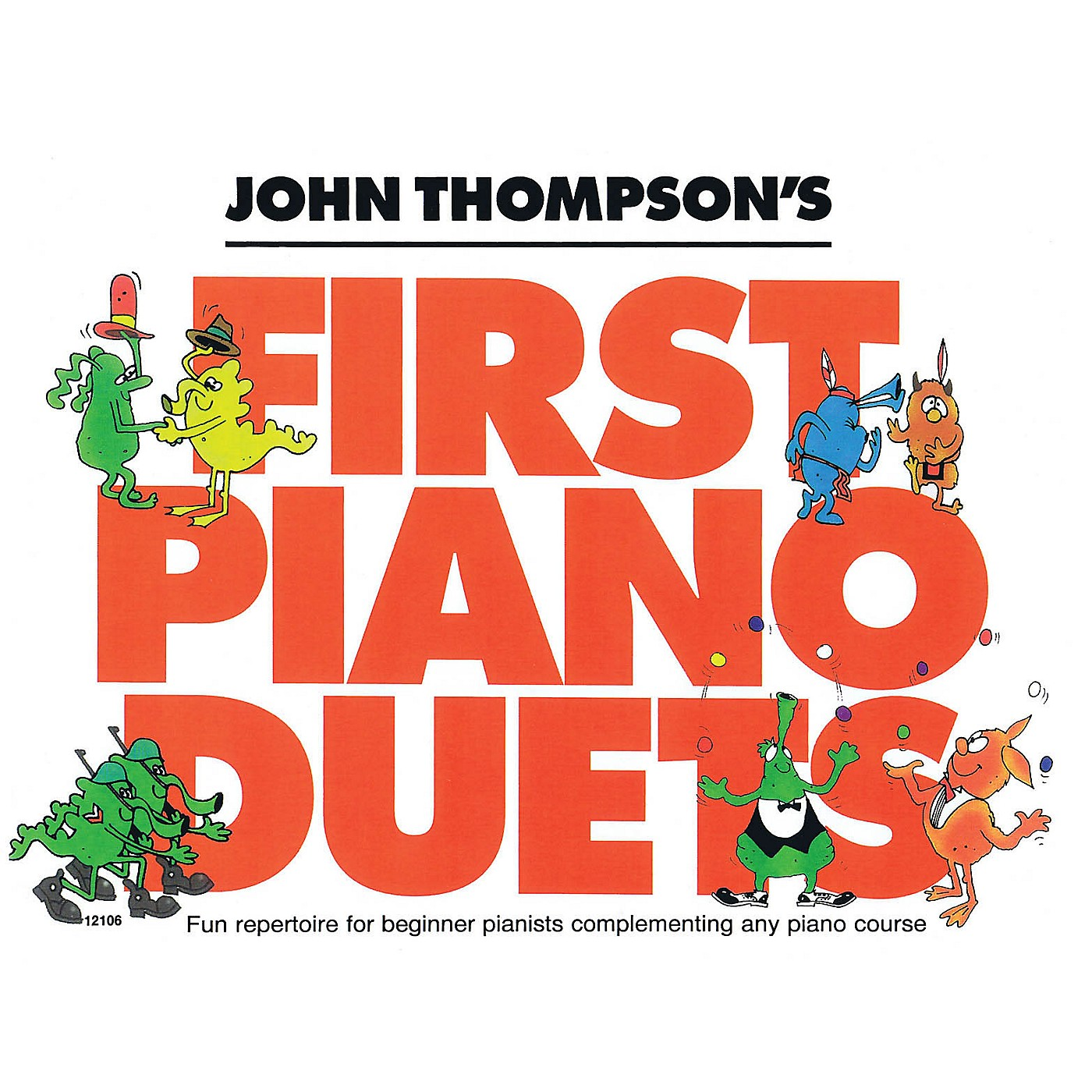 Willis Music John Thompson's First Piano Duets Willis Series Book by Various (Level Elem) thumbnail