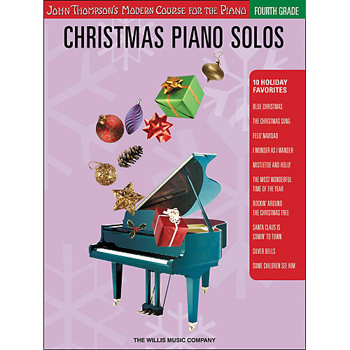 Willis Music John Thompson's Modern Course for Piano - Christmas Piano Solos Fourth Grade thumbnail