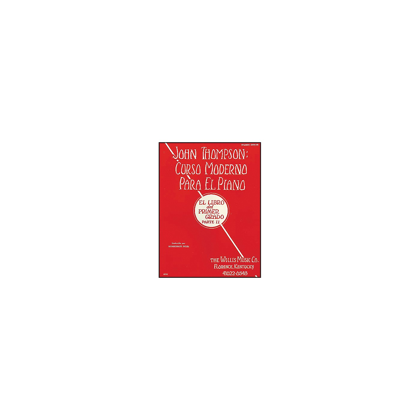 Willis Music John Thompson's Modern Course for Piano Book 2 (Spanish Edition) Curso Moderno thumbnail