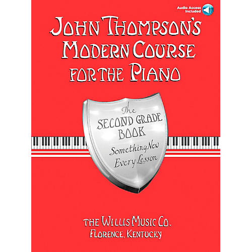 Willis Music John Thompson's Modern Course for Piano Grade 2 Book/Online Audio thumbnail
