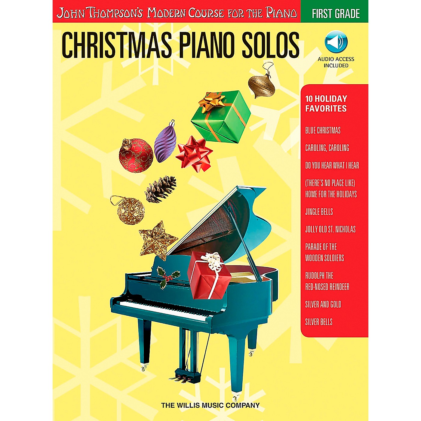 Willis Music John Thompson's Modern Course for The Piano - Christmas Piano Solos First Grade Book/CD thumbnail