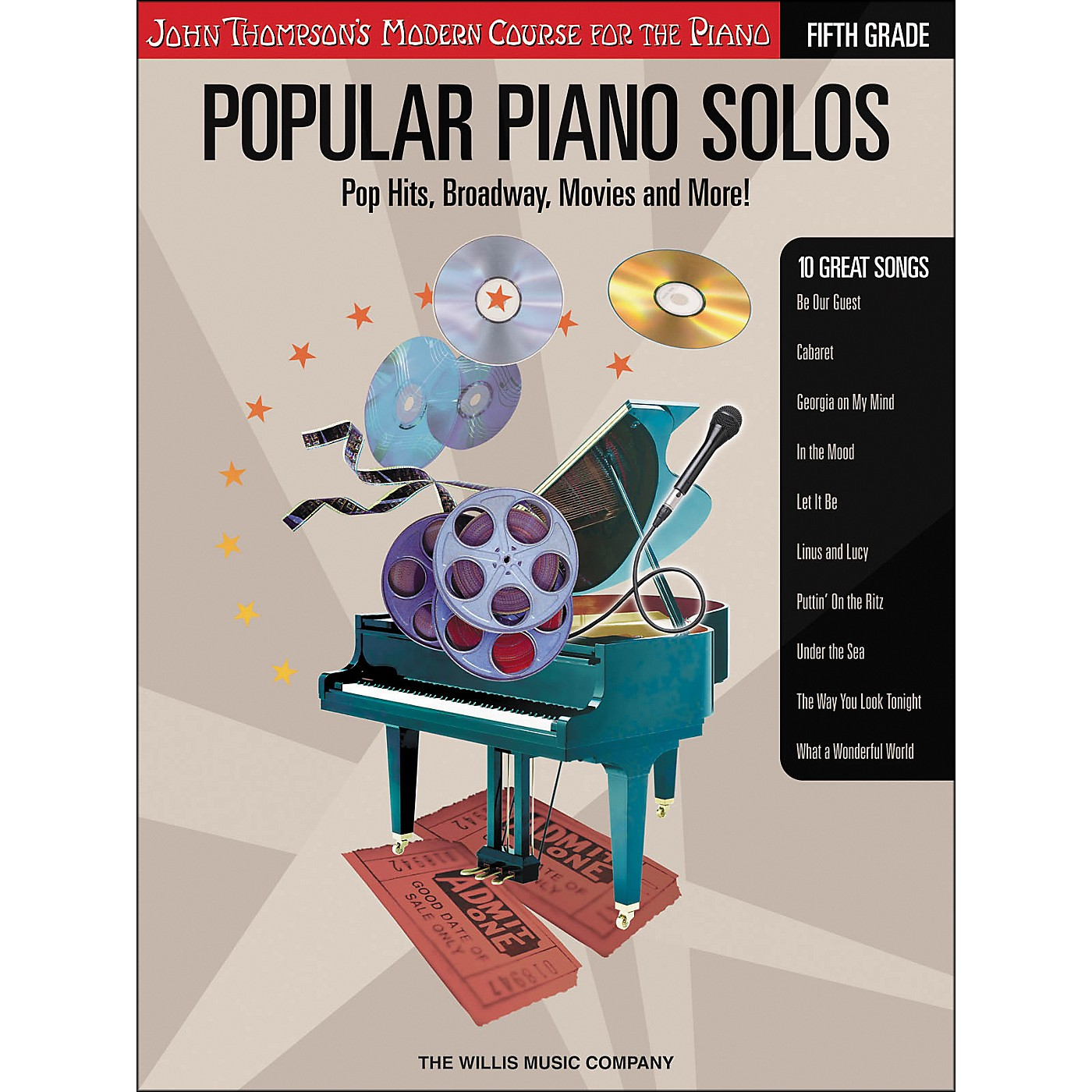 Willis Music John Thompson's Modern Course for The Piano - Popular Piano Solos Fifth Grade Book thumbnail