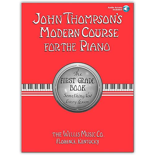 Willis Music John Thompson's Modern Course for The Piano Grade 1 (Book/Online Audio) thumbnail