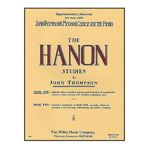 Willis Music John Thompson's Modern Course for The Piano Hanon Studies Book One thumbnail